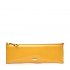 Burberry Prorsum Yellow Patent Leather Clutch 01