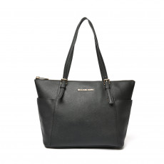 Michael Kors Jet Set Top-Zip Saffiano Tote 01