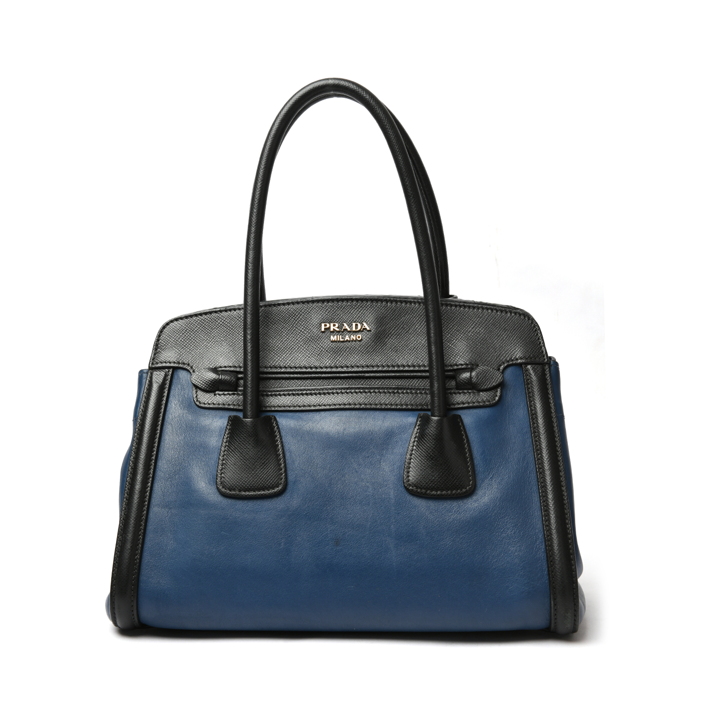 Prada City Calf Saffiano Cuir Large Satchel 01