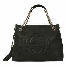 Gucci Soho Medium Textured-Leather Shoulder Bag 01