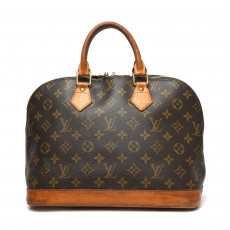 Louis Vuitton Monogram Canvas Alma PM Bag 01