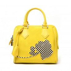 Louis Vuitton Speedy Cube PM Illusion Fleur Bag 01