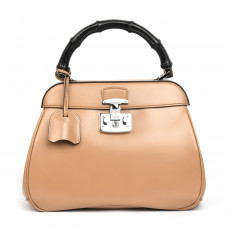 Gucci Lady Lock Leather Medium Top Handle Bag (01)