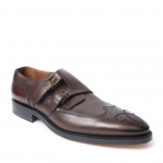 Bally Scribe Double Monk Strap Shoes 01