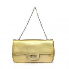 Salvatore Ferragamo Saffiano Luciana Chain Flap Bag 02