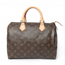 Louis Vuitton Monogram Canvas Speedy 30 Bag (01)