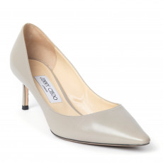 Jimmy Choo Romy Leather Pointed-Toe Pumps (01)