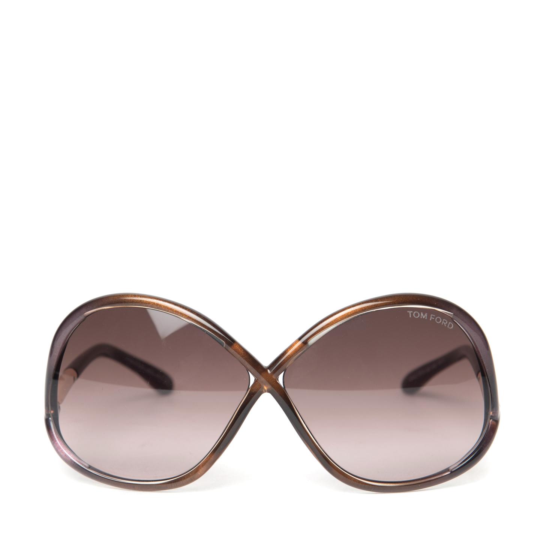 Tom Ford Ivanna Sunglasses TF 372 (01)