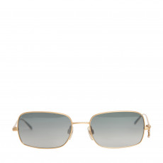 Chanel Goldtone Metal Frame Gradient Tint Sunglasses - 4079 (01)