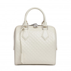 Louis Vuitton Limited Edition Cream Damier Facette Speedy Cube Bag