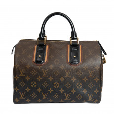 Louis Vuitton Limited Edition Noir Monogram Mirage Speedy 30 Bag 02