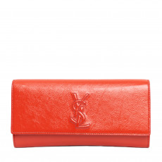 Yves Saint Laurent Coral Small Belle de Jour Clutch