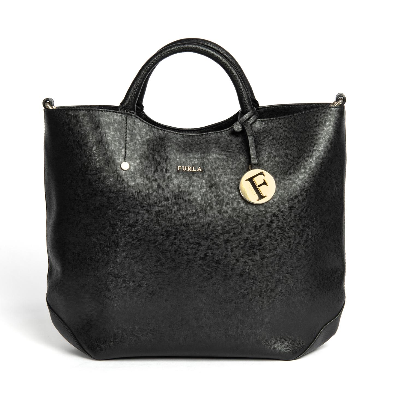Furla Alissa Large Saffiano Leather Tote 01