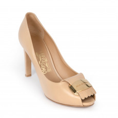Salvatore Ferragamo Bisque Gilda Pumps 01