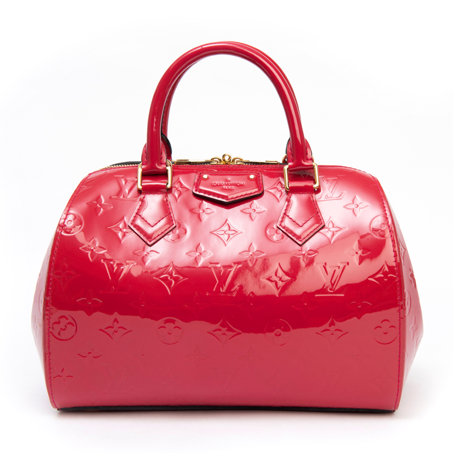 Louis Vuitton Rose Indian Monogram Vernis Montana Bag