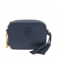 Tory Burch Navy McGraw Camera Bag 01