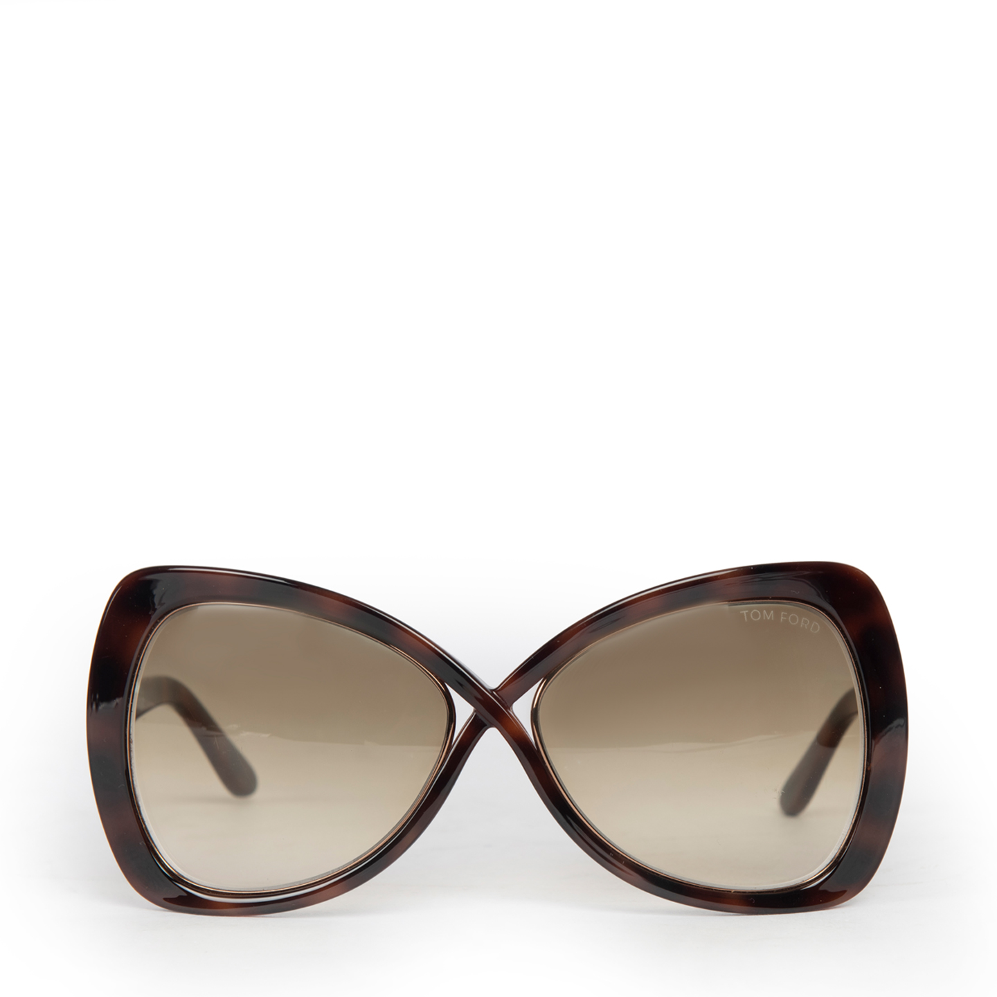 Tom Ford Jade Square Oversized Sunglasses TF277 (01)