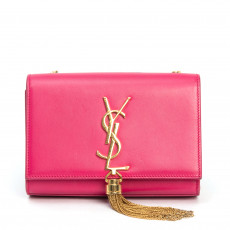Saint Laurent %22Monogram Kate%22 Small Tassel Shoulder Bag  01