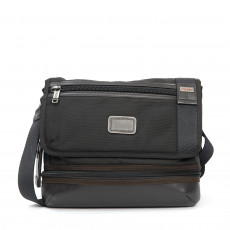 Tumi Alpha Bravo-Beale Crossbody Bag, Black in Hickory 01