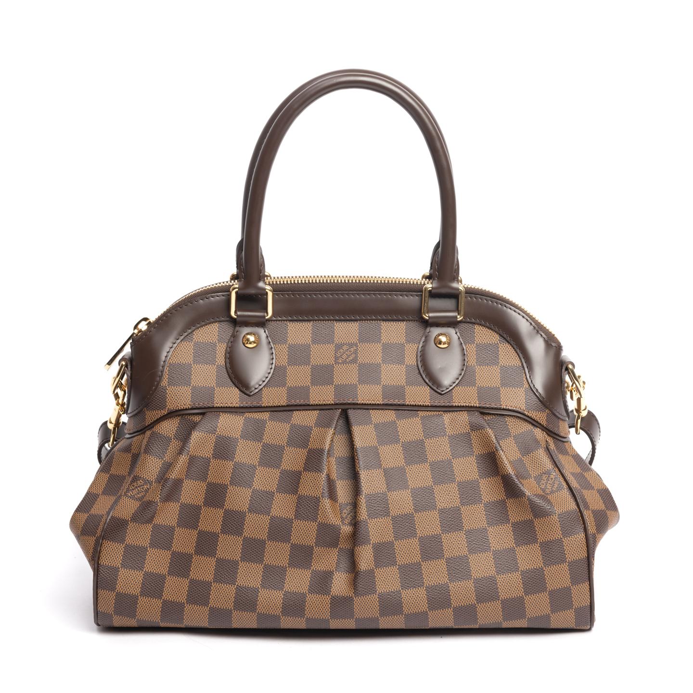 Louis Vuitton Damier Ebene Canvas Trevi PM Bag (02)