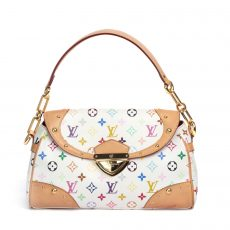 Louis Vuitton Multicolore Beverly MM Shoulder Bag  (01)