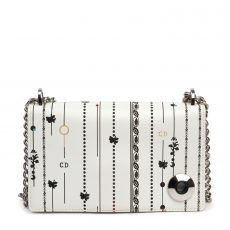 Christian Dior Mini Floral and Stripes Printed Diorama Bag (02)