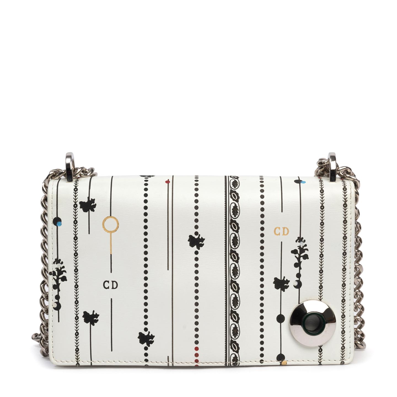Christian Dior Mini Floral and Stripes Printed Diorama Bag (02)