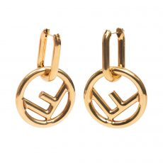Fendi F is Fendi Gold Earrings (05)