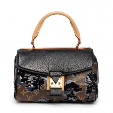 Louis Vuitton Limited Edition Fleur De Jais Carousel Bag (01)