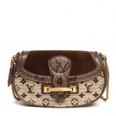 Louis Vuitton Limited Edition Marron  Monogram Empire Levant Bag (01)
