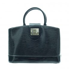 Louis Vuitton Black Epi Leather Mirabeau PM Bag (01)