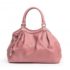 Gucci Rose Microguccissima Leather Medium Sukey Tote (02)