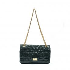 Chanel Crackled Patent Calfskin Puzzle Reissue 225 Flap Bag