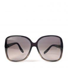 Gucci Black Heart Interlocking G Square Sunglasses (02)