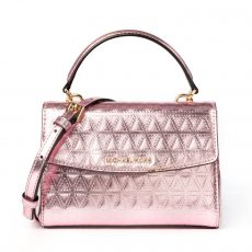 Michael Kors Ava Mini Metallic Crossbody (03)