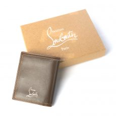 Christian Louboutin Paros Billfold Wallet With Coin Pocket (02)