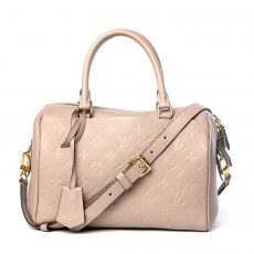 Louis Vuitton Mastic Monogram Empreinte Leather Speedy Bandouliere 25 Bag (03)