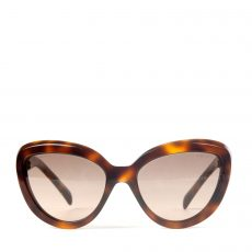 Prada Cat Eye Sunglasses SPR 08R Tortoise