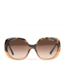 Versace Brown Gradient Square Sunglasses